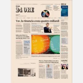 "Ediz. di Venerdi 08 Febbraio 2019 + I libri del Sole ""Pensioni"""