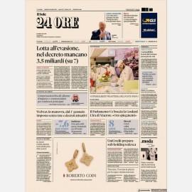 Ediz. di Venerdì 11 ottobre + Dorso Rapporto Territoriale Centro