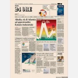 Ediz. di Venerdì 12 Luglio + Omaggio Rapporto Sole24h Centro
