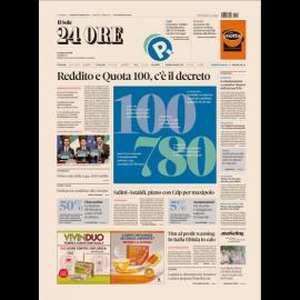 Ediz. di Venerdi 18 Gennaio 2019