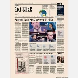 Ediz. di Venerdì 19 Luglio + Omaggio Rapporto Sole24h Nord Est