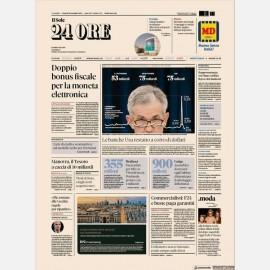 Ediz. di Venerdì 20 Settembre + Omaggio Rapporto Sole24h Nord-Ovest