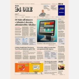 Ediz. di Venerdì 28 Giugno + Il Maschile del Sole 24h + Rapporto Sole 24h Nord Est