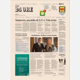 Ediz. di Venerdi 28 Settembre 2018 + Il maschile del Sole 24 Ore