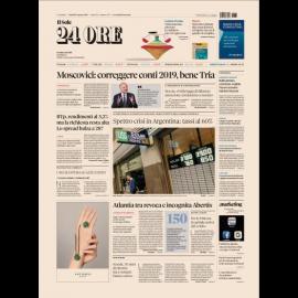 Ediz. di Venerdì 31 Agosto 2018