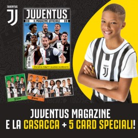 Juventus Magazine N.17 + La casacca e 5 card speciali