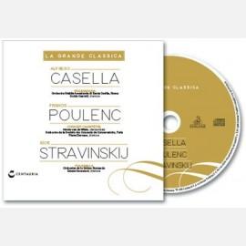 Casella, Poulenc, Stravinskij