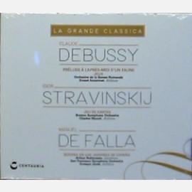 Debussy* - Stravinskij**-De Falla***