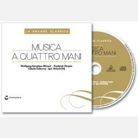 Musica a quattro mani (Mozart- Chopin- Debussy- Stravinskij)