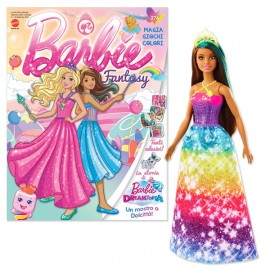 Barbie Fantasy Febbraio 2021 + Barbie Dreamtopia dai morbidi capelli biondi