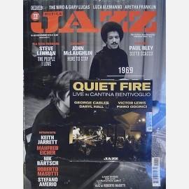 Novembre 2019 con CD (Quiet Fire Live in Cantina Bentivoglio)