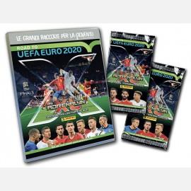 Starter Pack (24 Cards + Raccoglitore + 2 Cards Limited Edition: INSIGNE Italia e SZCZĘSNY Polonia + Checklist + Campo da gioco)