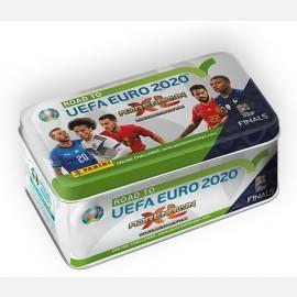 TIN BOX (36 Cards + 4 Limited Edition: CRISTIANO RONALDO Portogallo, LUKA MODRIĆ Croazia, HARRY KANE Inghilterra, ROBIN OLSEN Svezia)