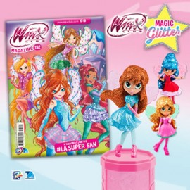 Winx Club N° 192 + Bloom Magic Glitter