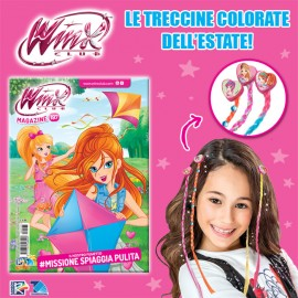 Winx Club N° 197 + Le treccine colorate dell'estate