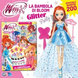 Winx Magazine N° 200 + Bloom Glitter Party