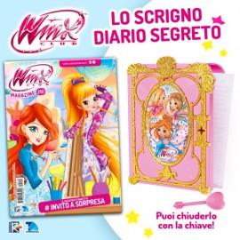 Winx Magazine N° 210 + lo Scrigno con Diario Segreto