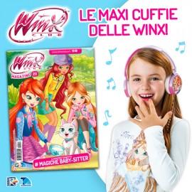 Winx Magazine N° 211 + Maxi Cuffie