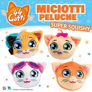 Miciotti Peluche Super Squishy - La collezione completa