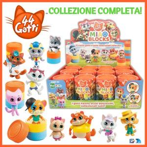 BOX Collezione completa (12 nuovi gattini in tante costruzioni colorate)