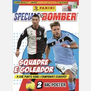 Numero Speciale (Squadre e Goleador) + 2 cards Limited Edition: Wojciech SZCZĘSNY (Polonia) e Sergio RAMOS (Spagna) + 1 bustina UEFA EURO 2020 Adrenalyn XL