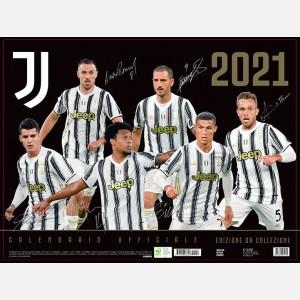 Calendario Juventus 2021 - Orizzontale