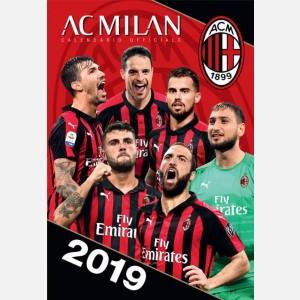 Calendario Milan 2019 - Verticale