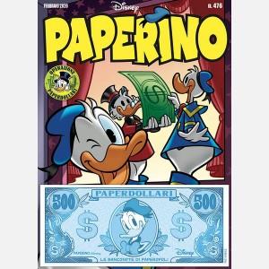 Febbraio 2020 + Banconota 500 Paperdollari (Paperino)