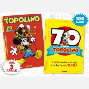 Topolino N° 3306 + Albo 70 anni di Topolino