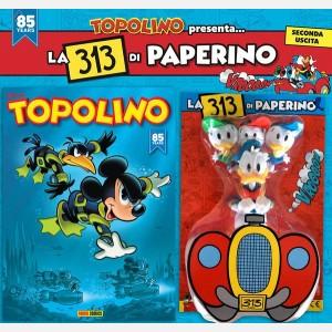 Topolino N° 3317 + La 313 di Paperino (Parte #2: Paperino & Qui, Quo, Qua)