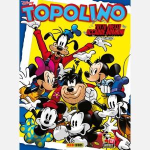 Topolino N° 3284 + Bustina figurine Topolino Sticker Story