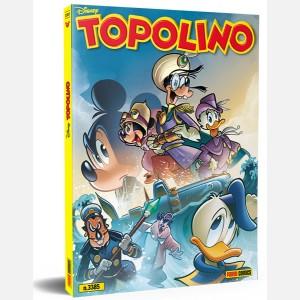 Topolino N° 3385 + Super bustina Azzurra (Animali Stricker Collection)