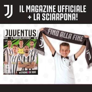 Juventus Magazine N. 22 + La Sciarpona Ufficiale bianconera