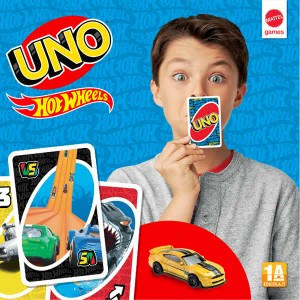 Carte UNO™ Hot Wheels™ + Veicolo
