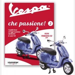 Vespa Primavera 150 (2014) + Raccoglitore fascicoli