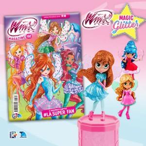 Winx Club N° 192 + Bloom Magic Glitter