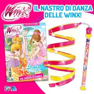 Winx Magazine N° 206 + Nastro di danza