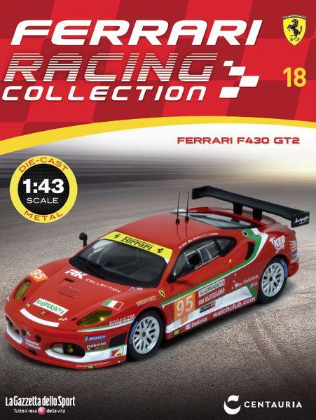 Ferrari Racing Collection n° 4 FERRARI F430 GTC 24H LE MANS 2008 1:43 CENTAURIA