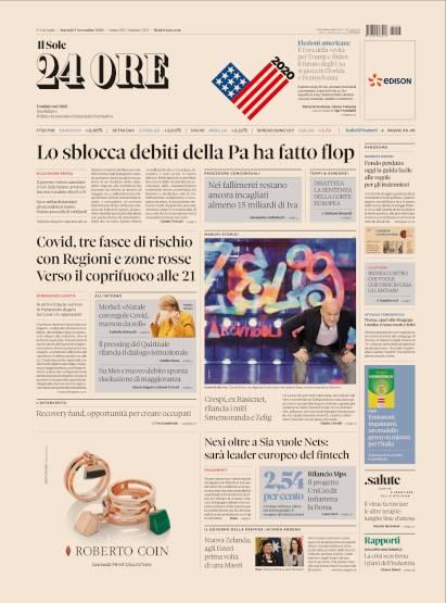 Il Sole 24 Ore Quotidiano In Edicola