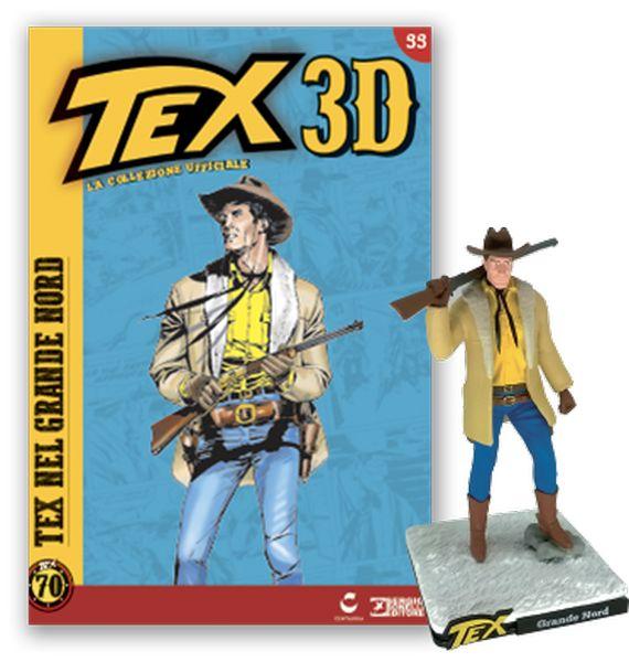 Statuine TEX 3D Uscita n° 46 WANG La collezione ufficiale Centauria figure