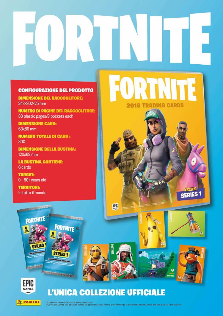 Fortnite - Trading Card Collection - Info prodotto